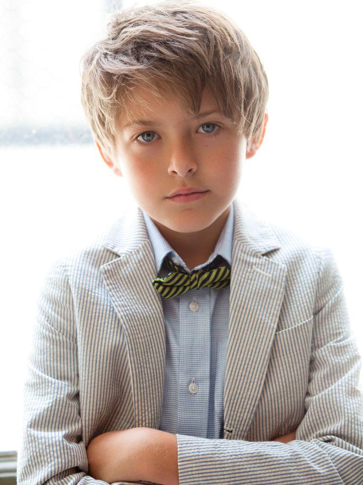 Модная прическа для мальчика 7 лет